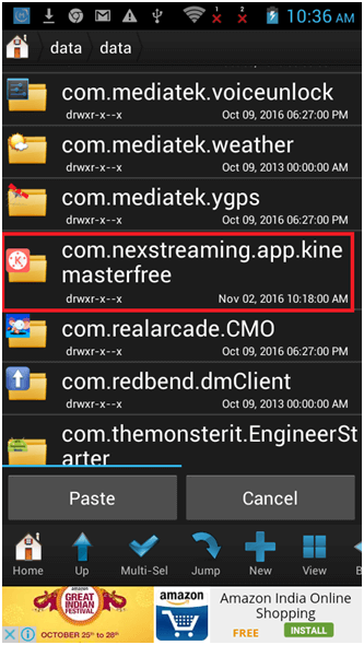 Add Video layer In KineMaster