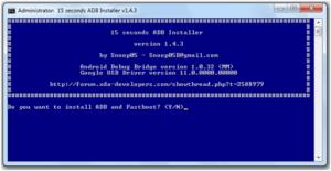 adb fastboot tool