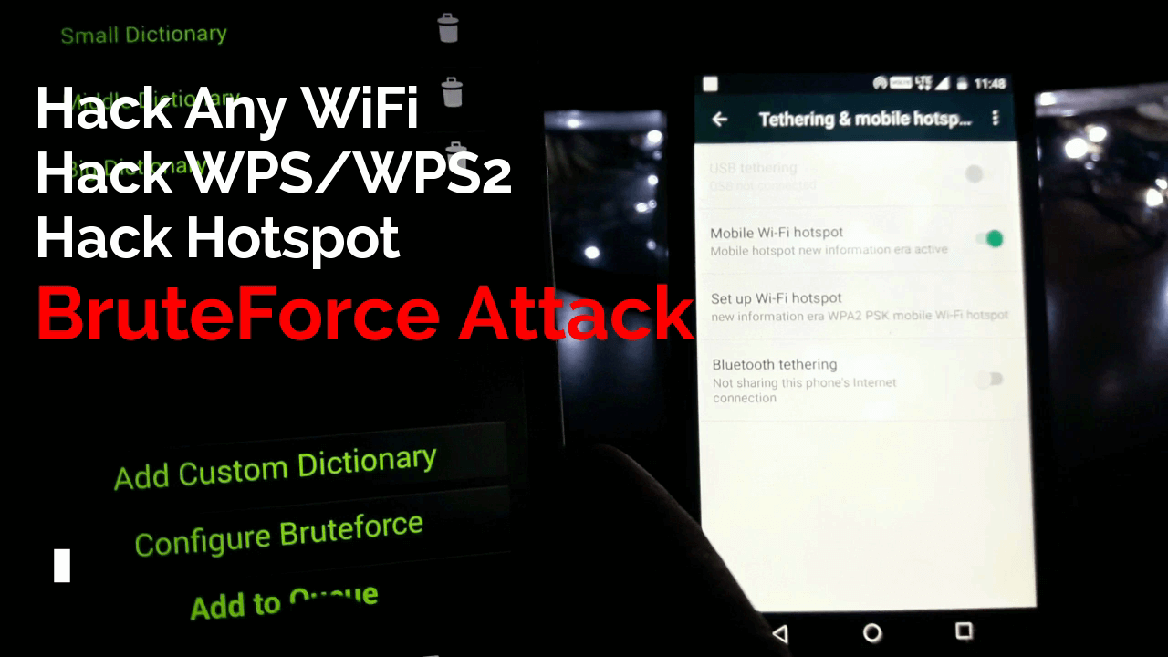 How To Hack Any WiFi Password Using WIBR+ [WIFI BruteForce