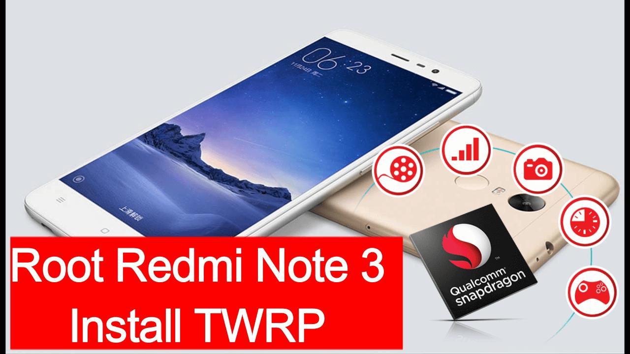 root xaiomi redmi note 3