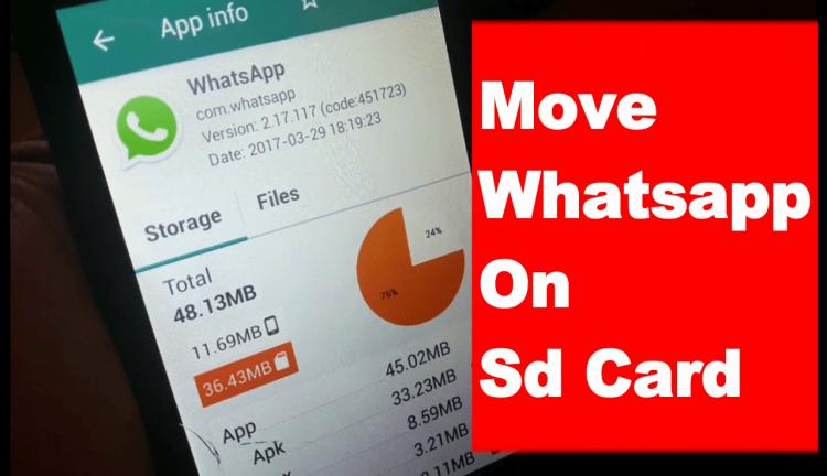 Move Whatsapp To Sd Card