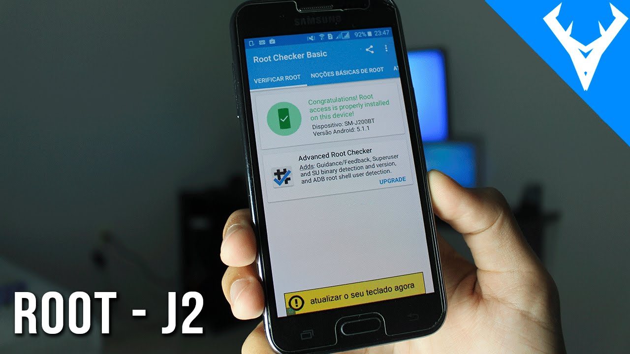 Root Samsung Galaxy J2 Without Pc