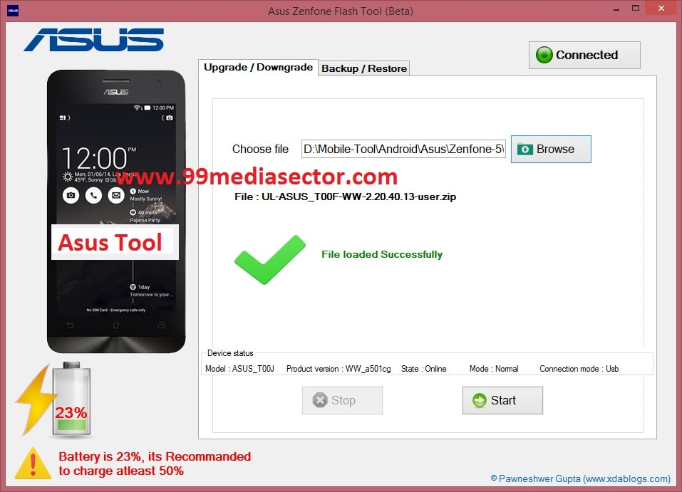 Download Asus ZenFone Flash Tool