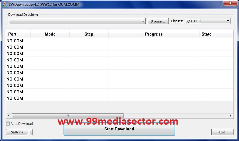 How To Use Qualcomm SW Downloader Flash Tool To Flash Qualcomm