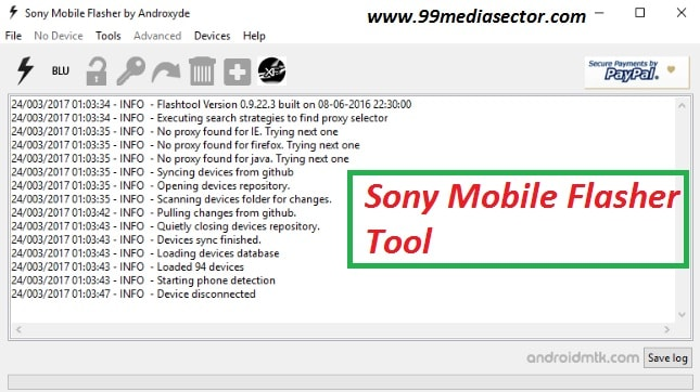 Download Sony Mobile Flasher Tool
