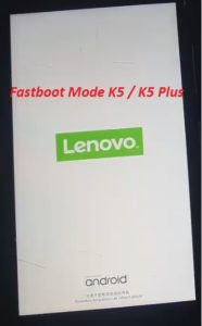 Bypass FRP Lock On Lenovo K5 Using Android fastboot Reset