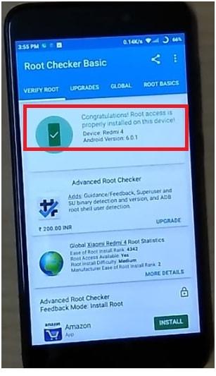 redmi 4 root access