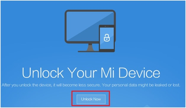 Unlock Bootloader Of Xiaomi mobile