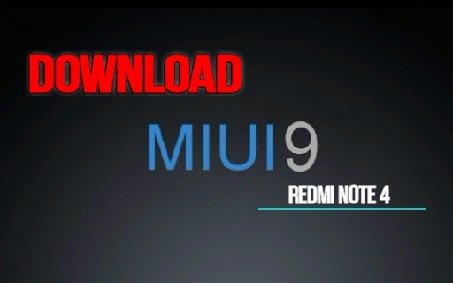 Download MIUI 9 For Redmi Note 4