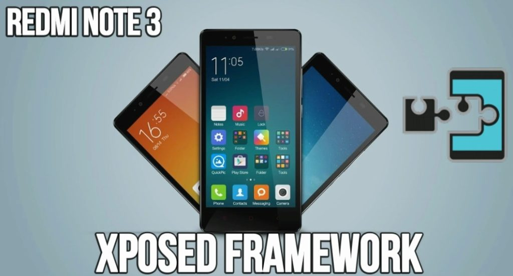 install xposed rramework on Xiaomi Redmi Note 3