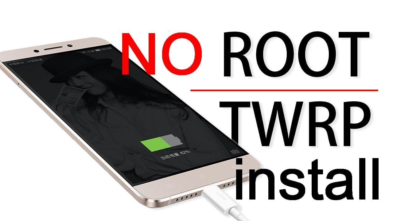 install twrp recovery without root