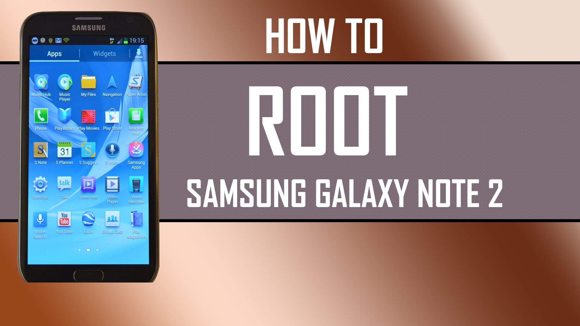 Root Samsung Galaxy Note 2 Without PC