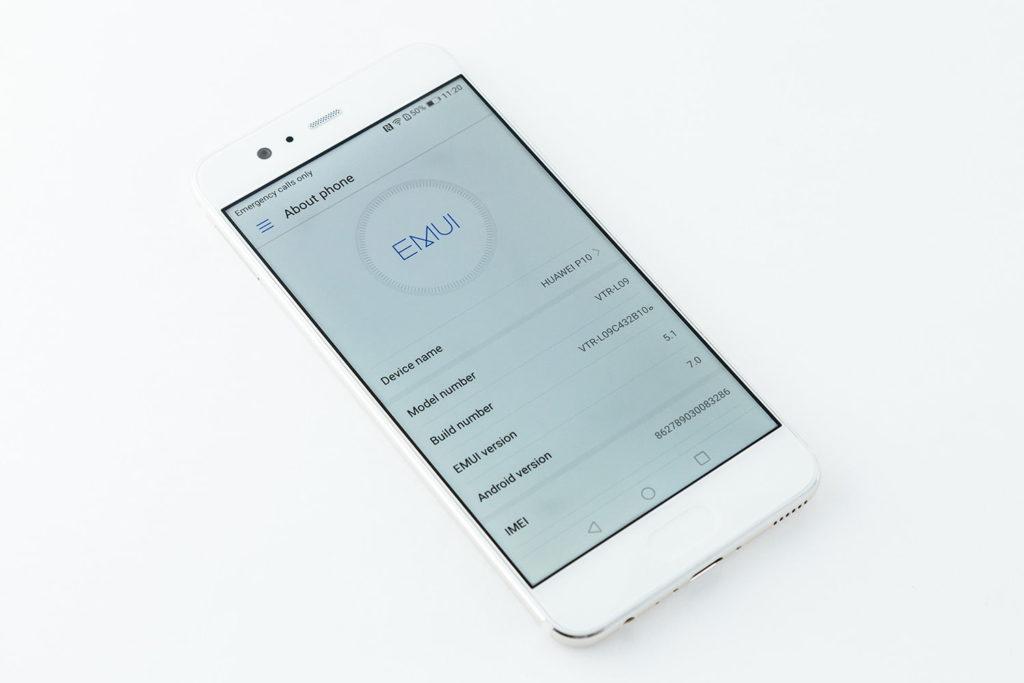 Open Project Menu On Huawei Device
