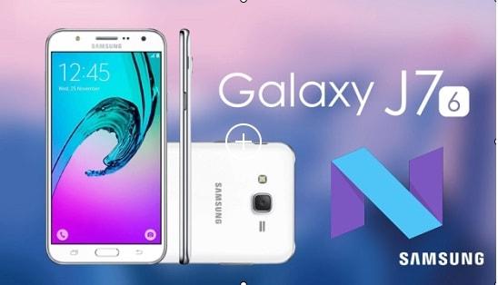 Update Samsung Galaxy J7 2016 SM-J710GN On Nougat