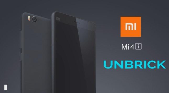 Unbrick Xiaomi Mi 4i