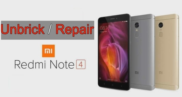 Unbrick Redmi Note 4