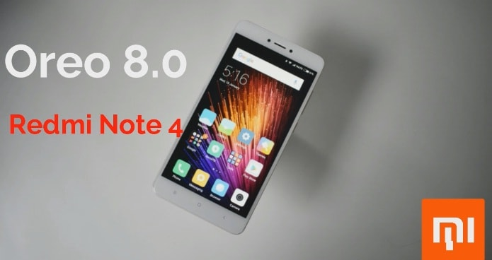 Update Redmi Note 4 On Oreo