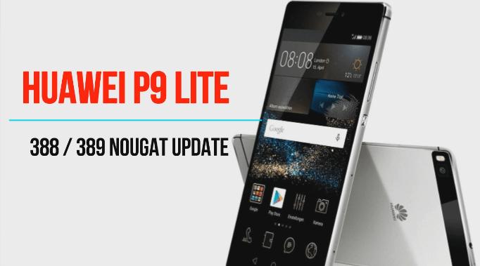 Huawei P9 Lite B388 Nougat Stock Rom