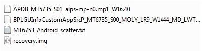 Infinix Note 4 Pro TWRP flie