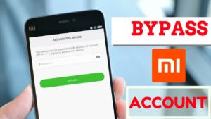 Bypass mi account verification