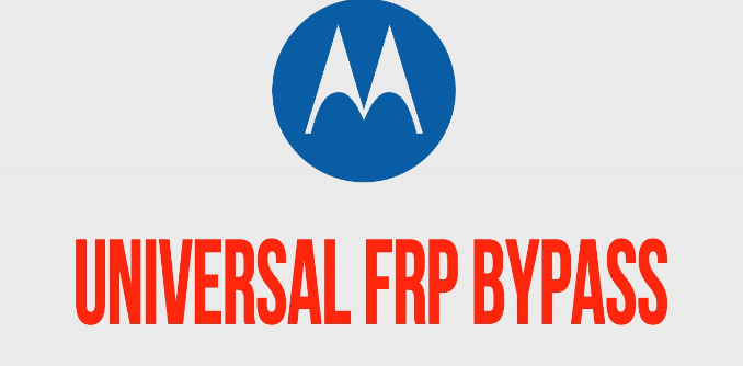 Bypass FRP Lock On Moto