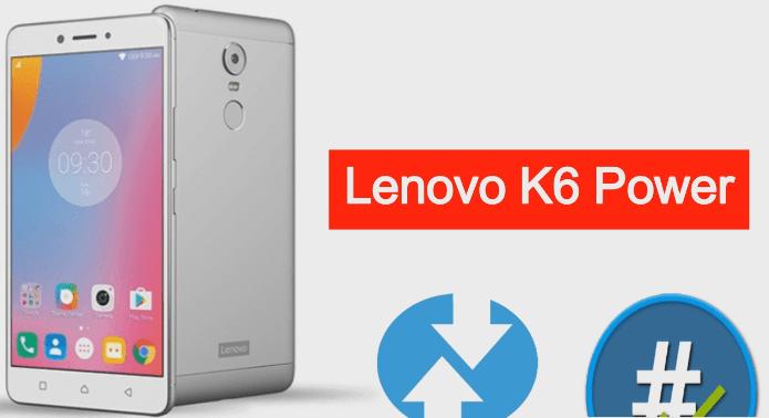 Root Lenovo K6 Power