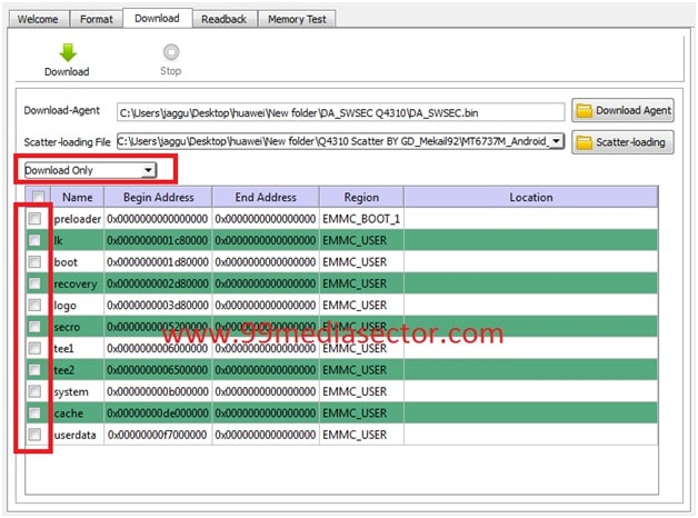 Download Latest Sp Flash Tool & Vcom Driver|All Version - 99Media Sector