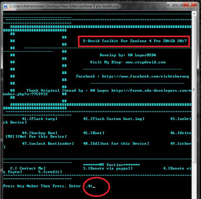 install TWRP on Asus Zenfone 4 Pro Z01GD