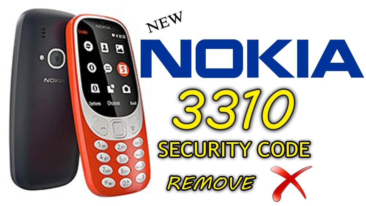 Nokia 3310 Factory Reset | Unlock Nokia 3310 Security PIN - 99Media