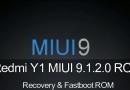 Redmi Y1 MIUI 9.1.2.0 Global Stable ROM