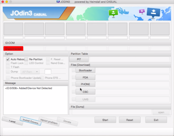 Download Odin Flash Tool For Mac