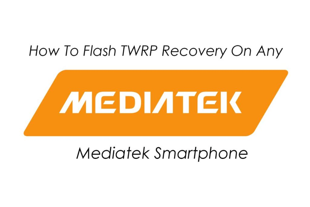 Flash TWRP Recovery Using Sp Flash Tool