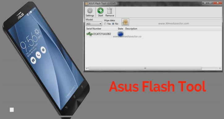 Asus Flash Tool v 1 0 0 45 Download For Windows Xp/W7/W8/W10