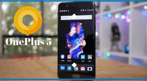 OnePlus 5 OxygenOS 5.0 Oreo Stock ROM