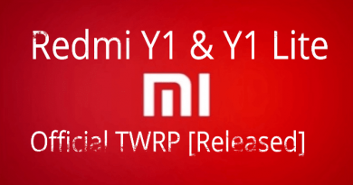 TWRP Recovery For Redmi Y1