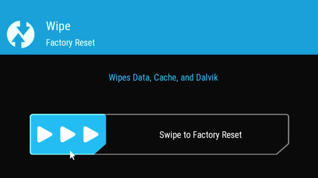 Wipe cache/Delvik