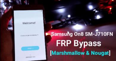 Remove Samsung Galaxy On8 FRP