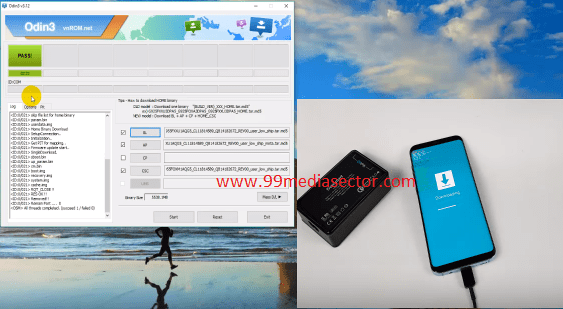 How To Bypass Samsung S8 SM G950F FRP Using Combination File