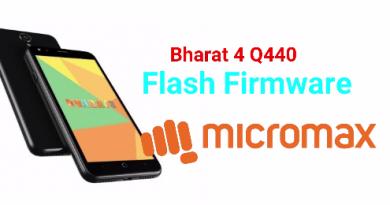 Flash Firmware On MicroMax Bharat 4