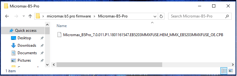 micromax b5pro firmware