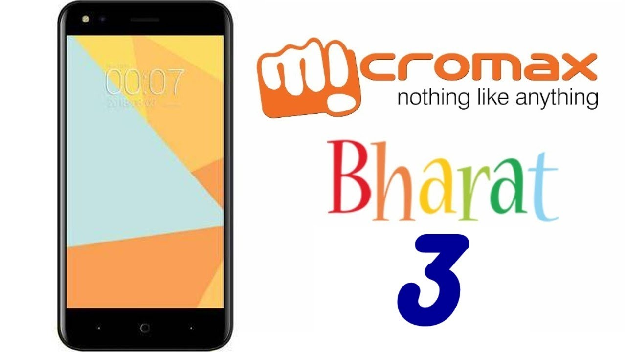 Flash Firmware On MicroMax Bharat 3