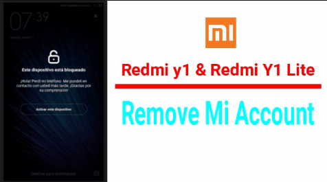 bypass mi account on redmi y1 lite