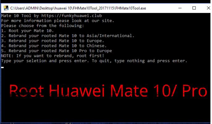 Root Huawei Mate 10 Pro