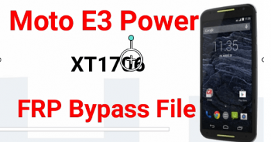 Bypass Moto E3 Power FRP Using Sp Flash Tool