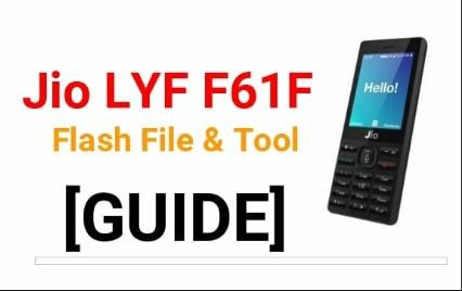Jio F61F Flash File