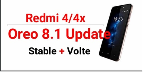 Install Android Oreo On Redmi 4