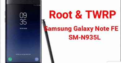 Root Samsung Galaxy Note FE SM-N935L