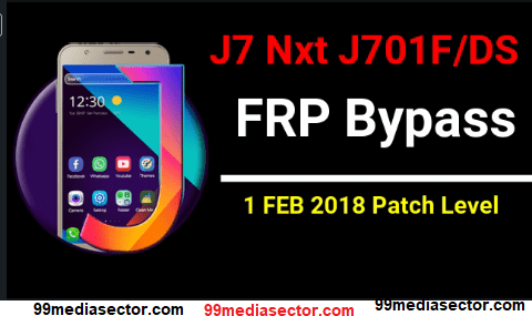 Bypass Samsung J7 Nxt FRP 1 February 2018 Security Patch [SM
