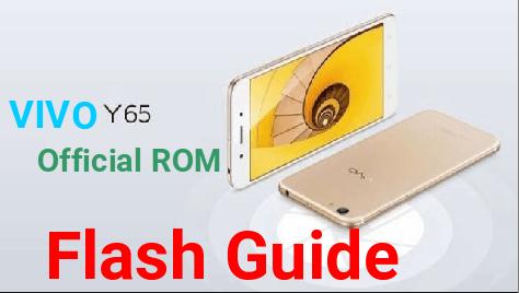 Flash Vivo Y65 Official Firmware