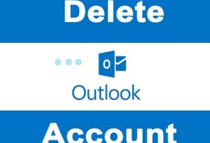 Delete OutLook Account Permanently